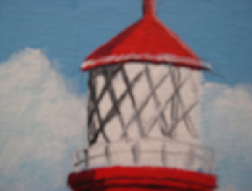 happisburgh lighthouse - norfolk detail 1